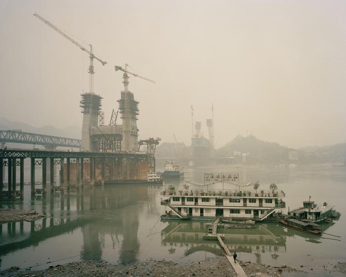 Yangtze river at Jiangjin, January 2015