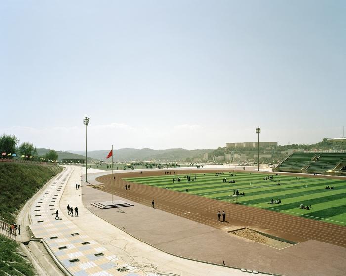 Stadium, Dongxiang, September 2013