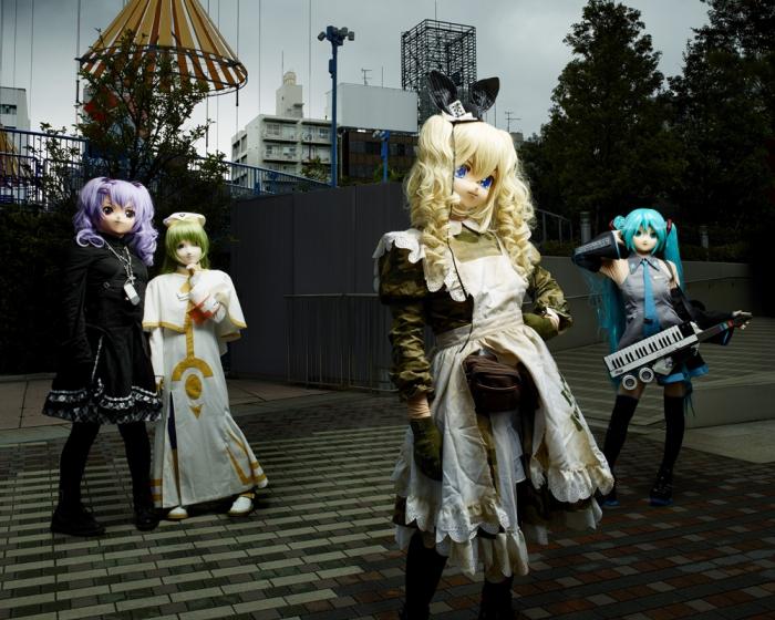 COSPLAY Groupe Nuko Inuyamai