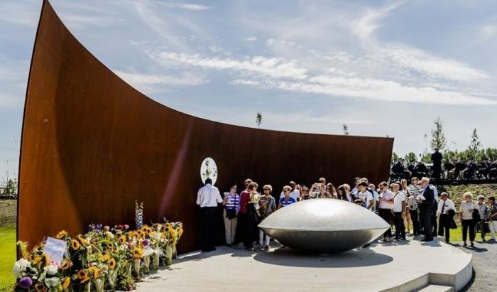 Ronald A. Westerhuis, ontwerper van MH17 monument.