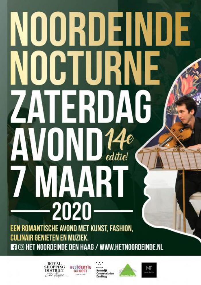 Noordeinde Nocturne | Zaterdagavond 7 maart 2020